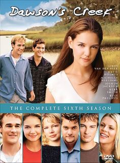 Dawsons Creek   The Complete Sixth Season DVD, 2006, 4 Disc Set