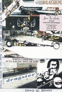 1996 David Brooks II 70 Front Engine Dragster Nostalgia Drag Racing