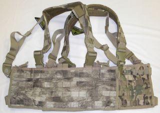 Condor MCR4 OPS Chest Rig Tactical Panel Vest Pouch ATACS MULTICAM CCA