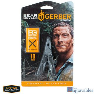 Gerber Survival BEAR GRYLLS Compact Multi tool #31 000750
