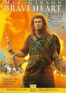 BRAVEHEART   DVD Widescreen   Mel Gibson   Catherine McCormack