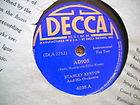 Stanley Stan Kenton Adios Taboo 78 Dance Swing Big Band Decca 4038