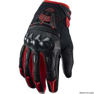 Carbon fiber Bomber motocross Gloves Motorcycle Bicycle gloves size L