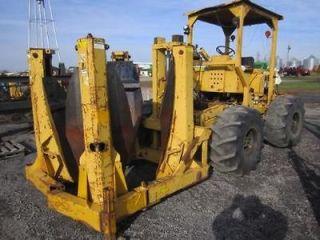 TS 40 Tree Spade on M 50 4X4 Articulated Tractor BIG JOHN Dutchman