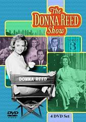 The Donna Reed Show Season Three DVD, 2009, 4 Disc Set