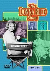 The Donna Reed Show Season Three DVD, 2009, 4 Disc Set