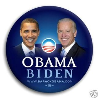 OBAMA / BIDEN Official Campaign Button / Pin