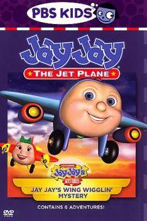 Jay Jay the Jet Plane   Jay Jays Wing Wigglin Mystery DVD, 2007