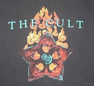 THE CULT Vintage CONCERT SHIRT 2001Tour T Beyond Good And Evil Large