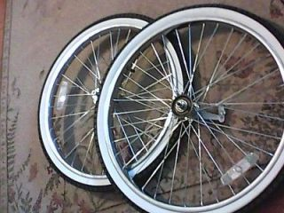 NEW 26 inch wheel set  single speed with coaster brake and new