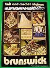 BRUNSWICK BREEZE vol 816 Knit Crochet Pattern Book