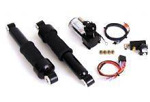 ARNOTT 13 BILSTEIN AIR SUSPENSION SYSTEM   BLACK   HARLEY DAVIDSO​N