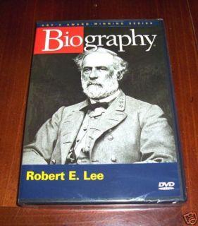 LEE Confederate CSA Virginia Civil War General A&E Biography DVD