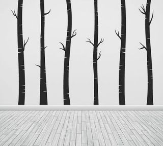 Wall Art Tree T5 MIR Birch Vinyl Decor Decal Sticker Mural Decoration