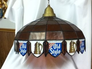 KP5 OLD STYLE BEER SIGN LIGHTED POOL TABLE LIGHT LAMP VINTAGE