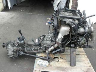 ISUZU TROOPER 4JG2 TURBO DIESEL ENGINE 3.1L FR BIGHORN 4JG2 ENGINE