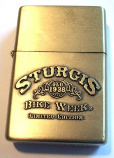 CAMEL STURGIS Bike Week LTD Edition Lighter MOTORCYCLE SOUTH DAKOTA
