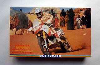 Protar Yamaha Tenere 660cc Paris Dakar Style 1/9 Motorcycle Kit