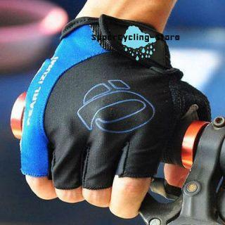 2012 BMX Cycling Bike Bicycle Half Finger Gloves Blue Size M L XL