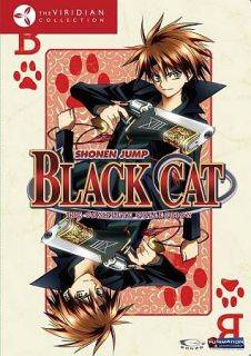 Black Cat   The Complete Series DVD, 2009, 4 Disc Set, Viridian