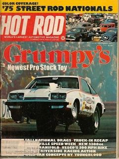 1975 Grumpys Toy Bonneville Score Street Rod Nats Truck In 75