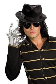 Officially Licensed Michael Jackson Adult Fedora Hat Costume Accessory