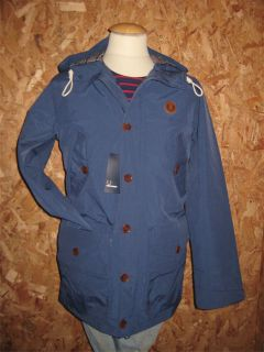 Fred Perry Service Blue Mountain Parka BNWT