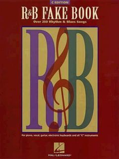 Fake Book 375 Rhythm and Blues Songs 1999, Paperback, Revised
