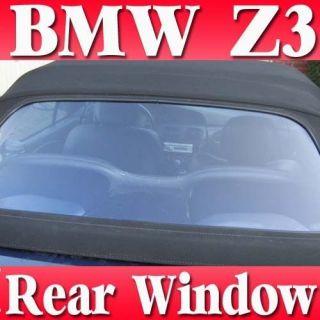 BMW Z3 Roadster Convertible Top Rear Window Hood Cabriolet Cabrio