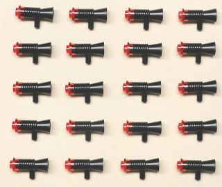 x20 NEW Lego BATMAN HALO STAR WARS ARMY Minifig Weapons Gun Lot