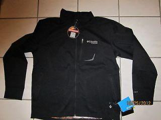Columbia Titanium Sawyers Creek Omni Heat man black jacket Brand New