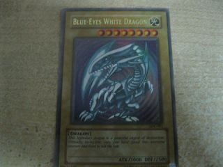 Yugioh Blue Eyes White Dragon SDK 001 Ultra Rare   Fast & Safe