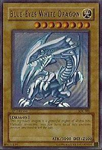 Blue Eyes White Dragon SDK 001 M/NM   Unl Ed Yu Gi Oh