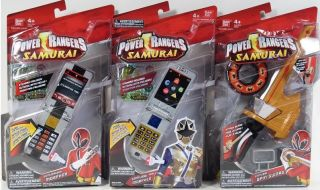 Power Rangers Samurai BATTLE GEAR SPIN SWORD MORPHER NIP MIGHTY