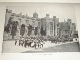 1898 BOER WAR ERA ~ RUGBY SCHOOL ~ RIFLE CORPS ON PARADE VOLUNTEER