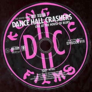 Dance Hall Crashers DVD Live House Blues Music Concert