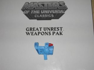 Masters of the Universe MOTU Classics Man At Arms 200x Cannon Blaster