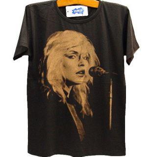 BLONDIE Debbie Harry 80s Indie Punk Rock T Shirt S/M