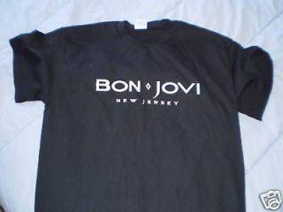 BON JOVI T SHIRT sz MED rock metal classic