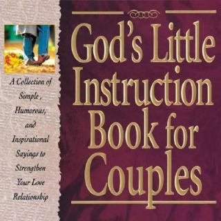 Gods Little Instruction Book for Couples 1996, Hardcover Mixed Media