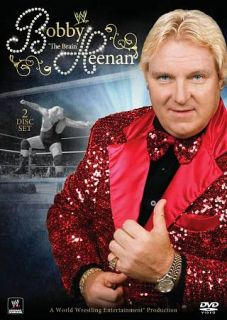 WWE Bobby The Brain Heenan DVD, 2010, 2 Disc Set