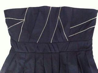 NEW 2012 Princess Hwy Alannah Hill Strapless Black Dress 10 RRP$179