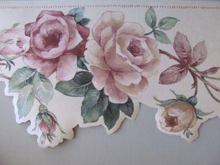 rose wallpaper border in Borders