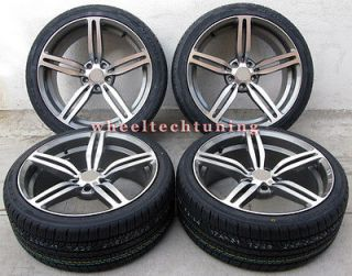 19 BMW M6 STYLE STAGGERED WHEELS AND TIRES FOR 325I, 328I, 330I, 335I