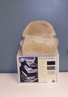 BMW Z3 Factory Sheepskin Seat Covers (Inserts)   Beige color only