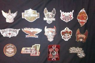 14 Harley Davidson stickers   helmet decals, motorcycle stickers
