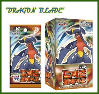 CARD BW DRAGON BLADE BOOSTER BOX Korean Ver 30 Booster Packs korea