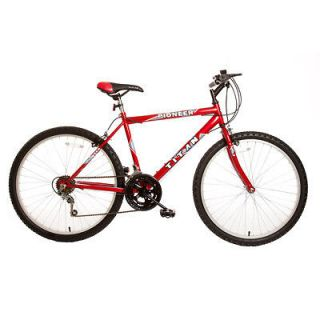 Pioneer Hardtail Men 26 inch Wheel 12 Speed Mountain Bicycle Bike Red