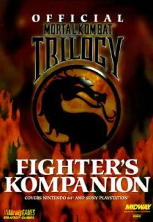 Fighters Kompanion by Brady Games Staff 1996, Paperback