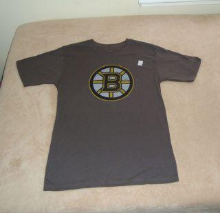 Boston Bruins NHL Hockey T Shirt , Adult Mens size Medium New w